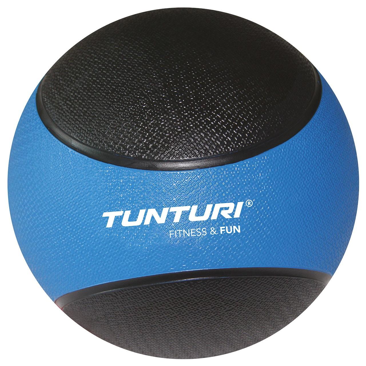 Medicinbal gumový 4 kg TUNTURI modro/černý