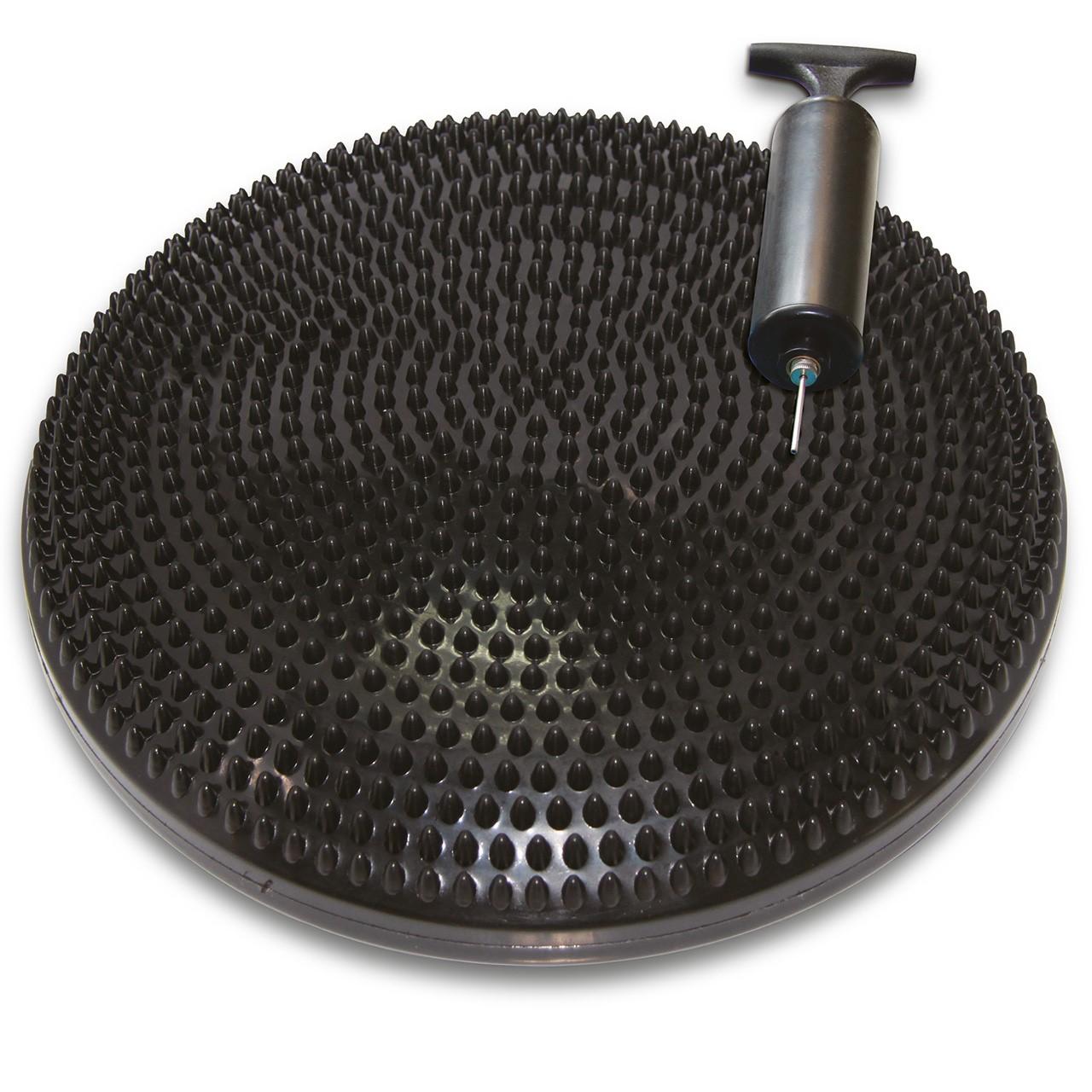 TUNTURI Vzduchová balanční podložka s pumpičkou černá