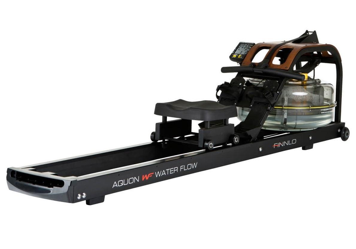 Veslovací trenažér FINNLO AQUON Waterflow + montáž a zajištění servisu u Vás doma ZDARMA