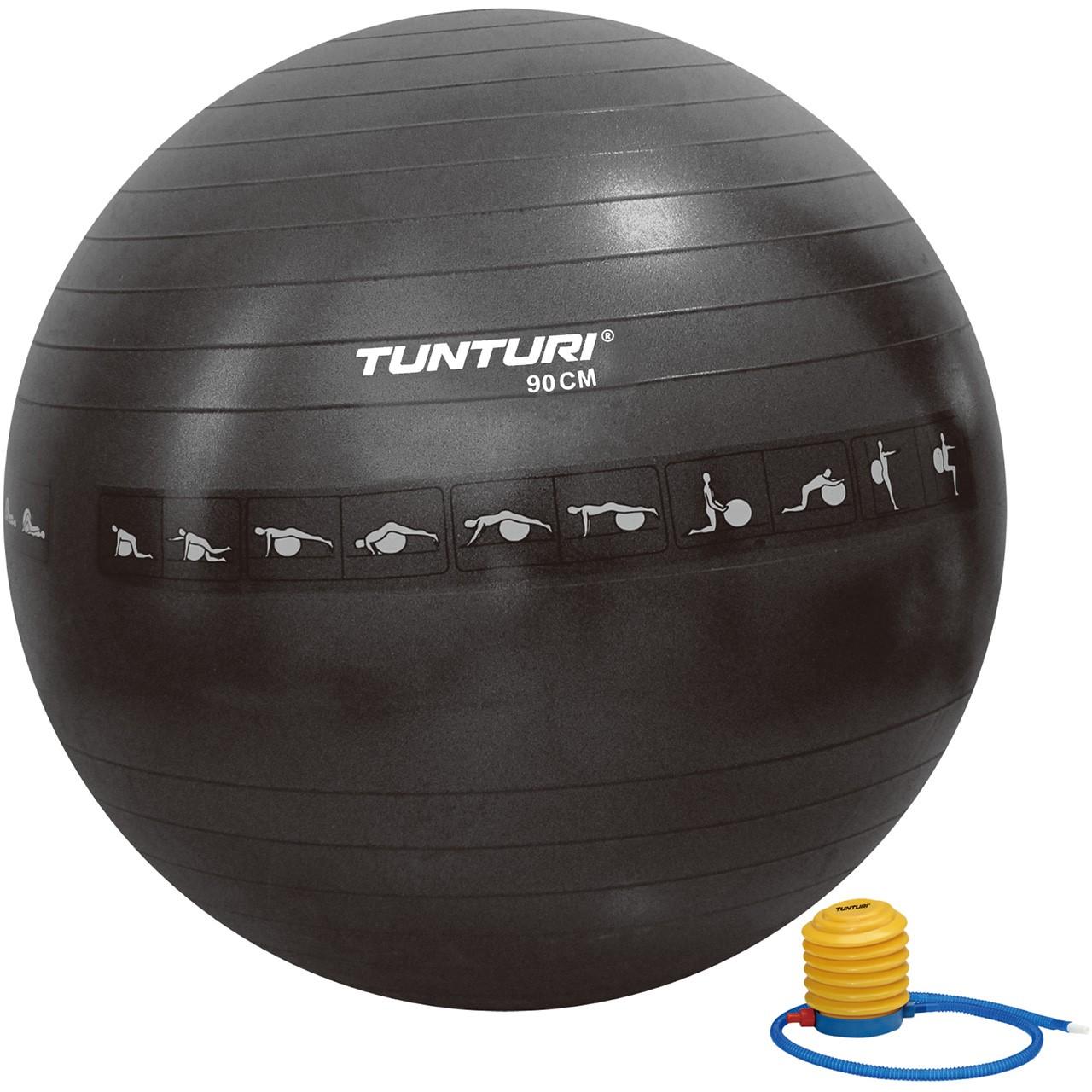 Gymnastický míč Antiburst 75 cm TUNTURI černý