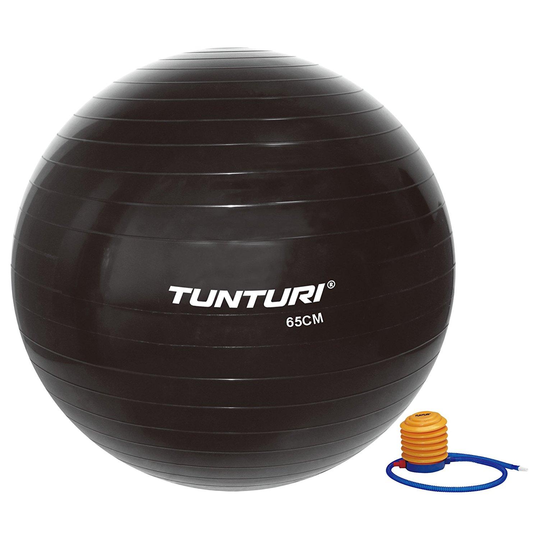 Gymnastický míč s pumpičkou 75 cm TUNTURI černý