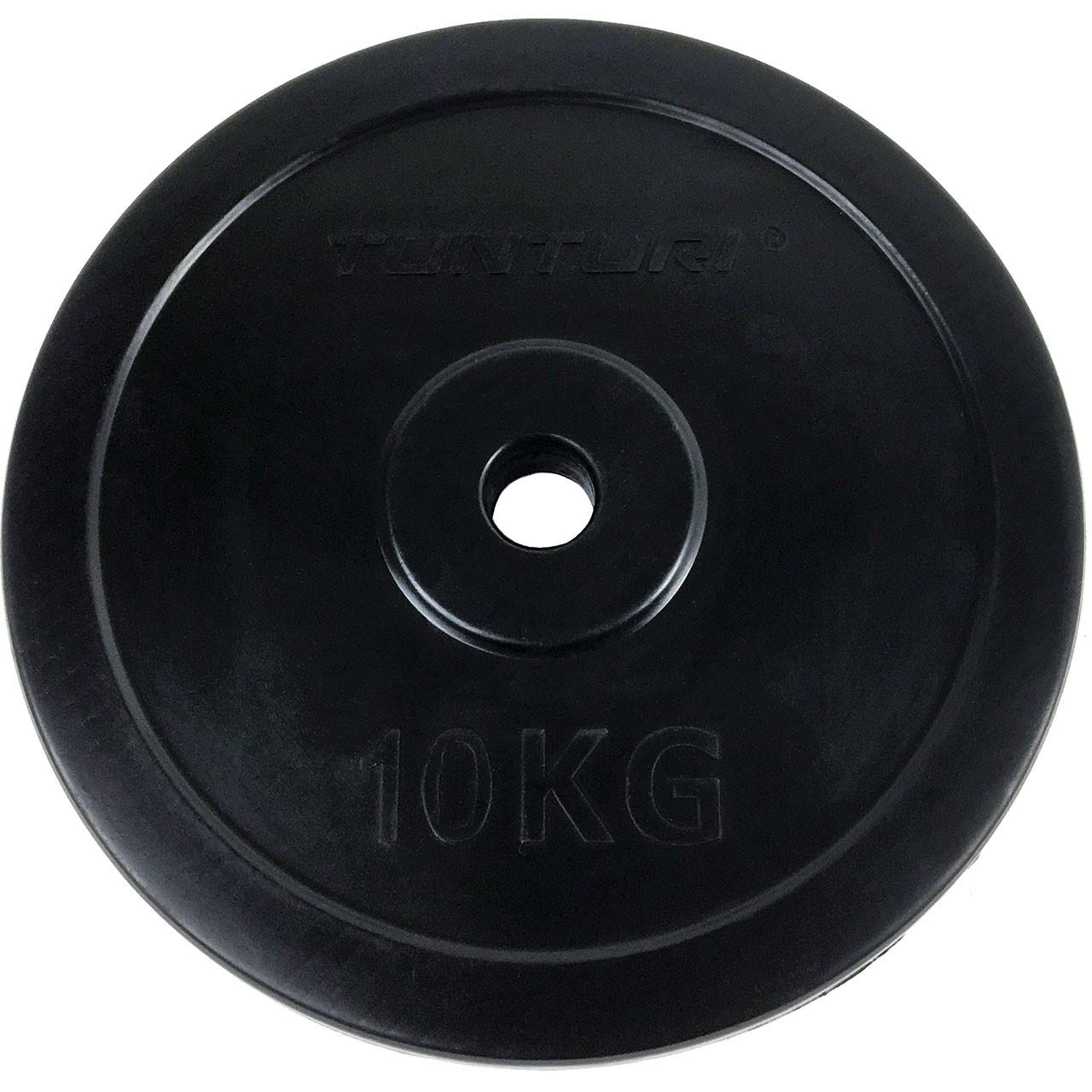 Kotouč pogumovaný TUNTURI 10 kg / 30 mm