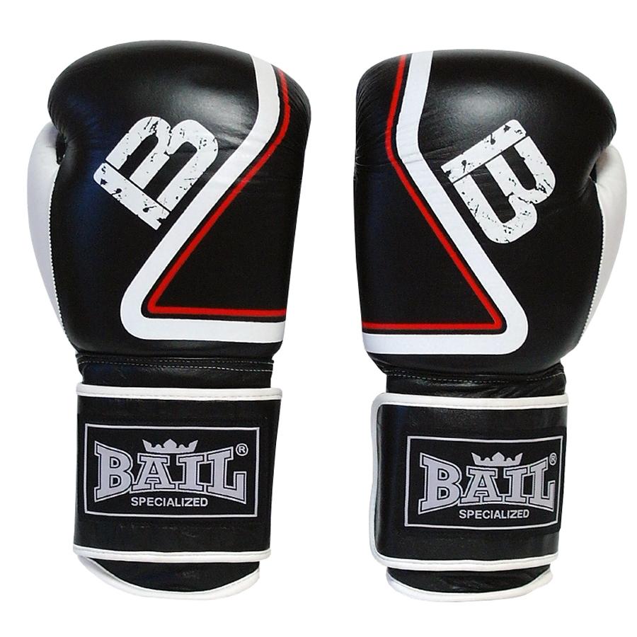Boxerské rukavice Thaibox 14 oz BAIL černé 34e9b08683