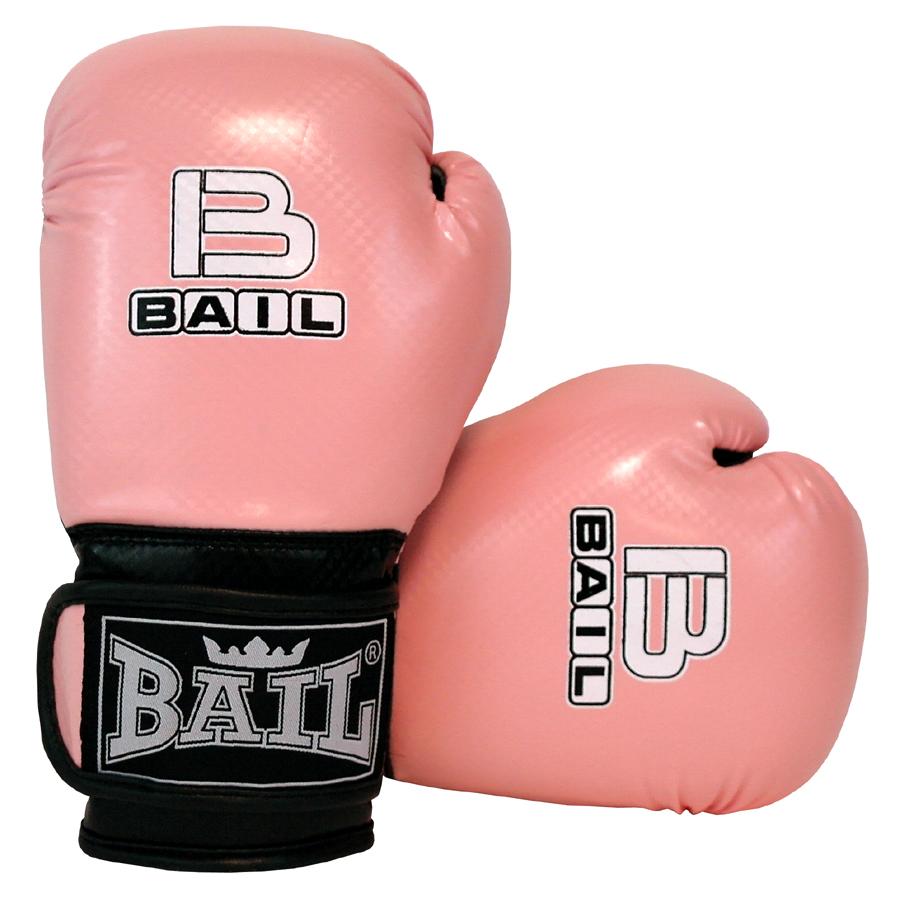 Boxerské rukavice dětské B-FIT 8 OZ BAIL světle růžové