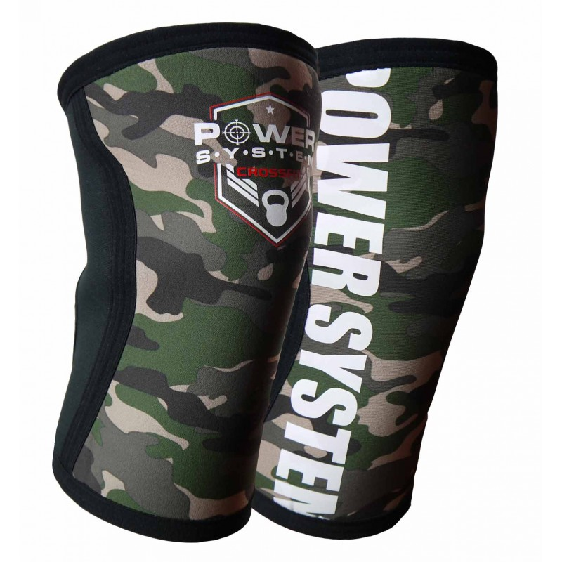 Kolenní bandáže Knee Sleeves Camo POWER SYSTEM vel. S/M