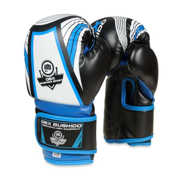 Boxerské rukavice DBX BUSHIDO - dětské ARB-407 6 oz. modré