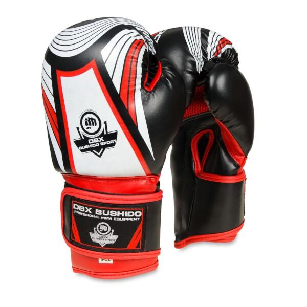 Boxerské rukavice DBX BUSHIDO - dětské ARB-407 6 oz. červené