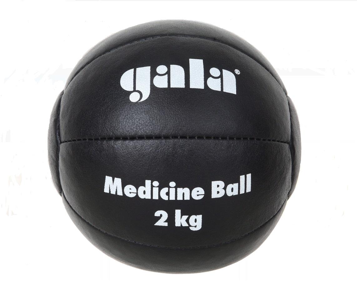 Medicinbal kožený GALA 4 kg černý