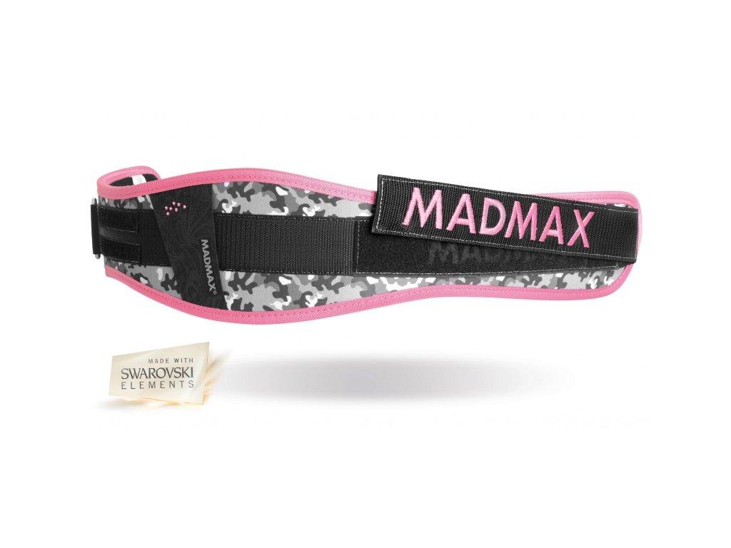 Fitness opasek WMN Conform - Swarovski MADMAX růžový vel. XS