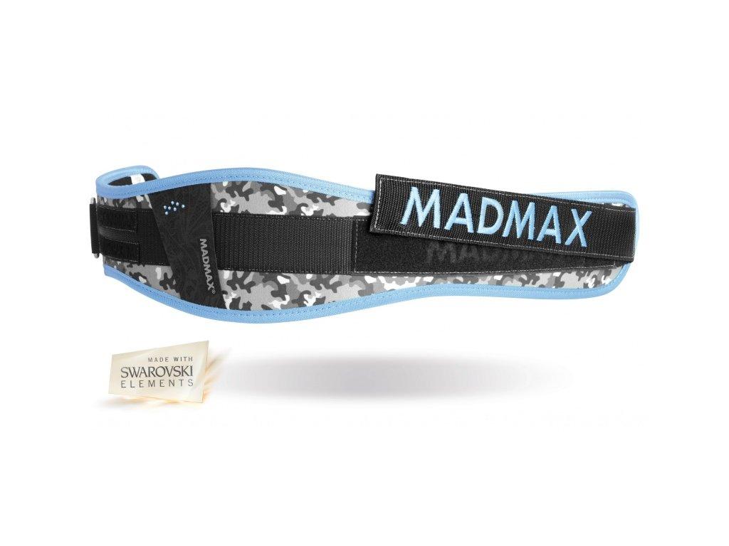 Fitness opasek WMN Conform - Swarovski MADMAX modrý vel. XS