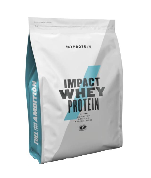 MyProtein Impact Whey Protein 1000 g bez příchutě