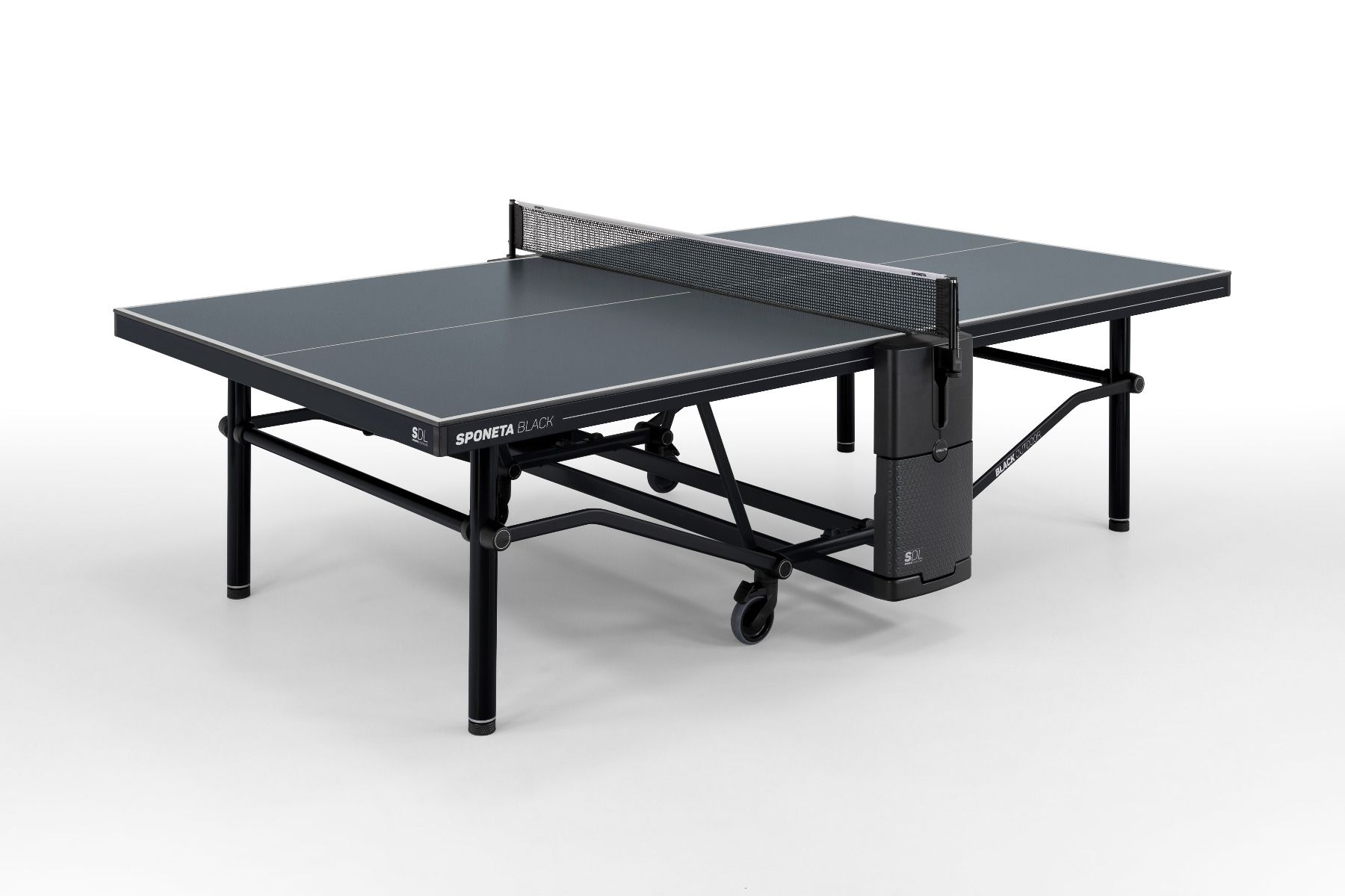 Pingpongový stůl venkovní SPONETA Design Line - Black Outdoor - venkovní