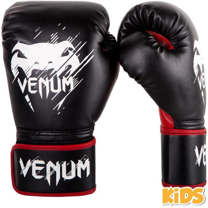 Boxerské rukavice - dětské Contender Kids černé/červené VENUM vel. 8 oz