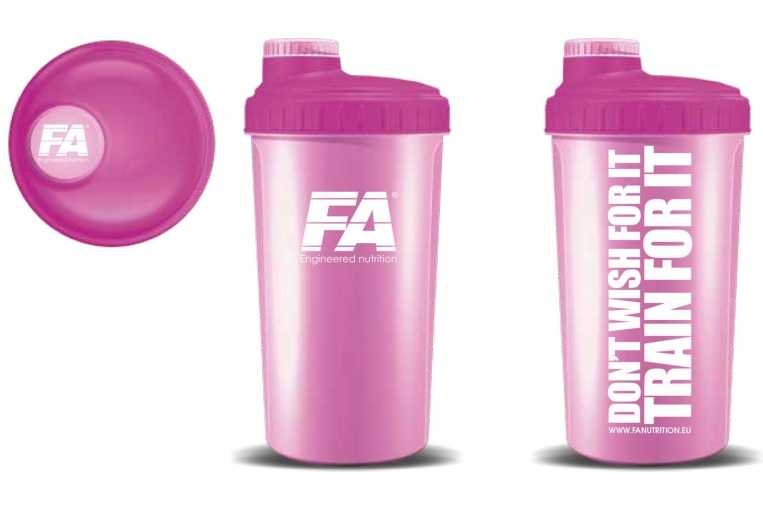 Fitness Authority FA SHAKER PINK