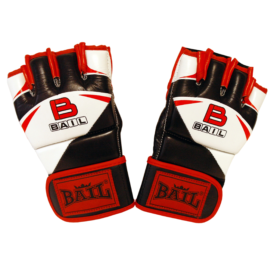 MMA rukavice Red Fight BAIL vel. L