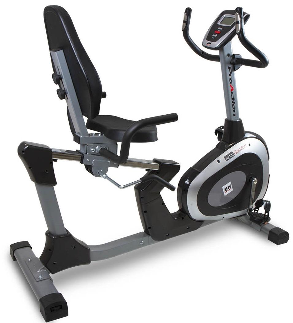 Recumbent BH Fitness ARTIC COMFORT + zajištění servisu u Vás doma ZDARMA