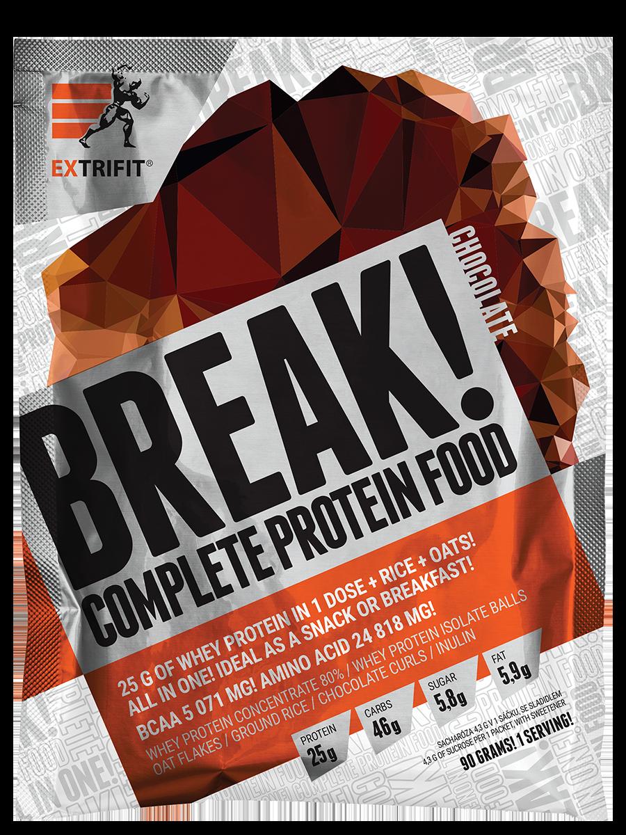 Extrifit Protein Break 90 g jablko skořice