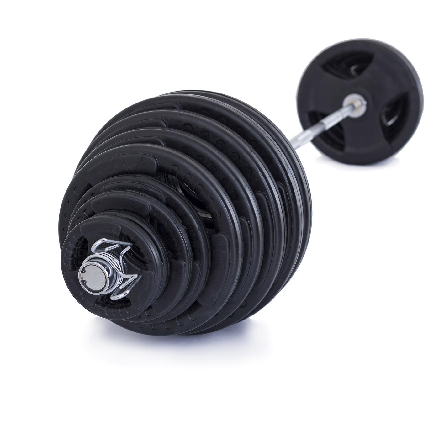 TRINFIT Olympijská činka 230 kg pugumovaná