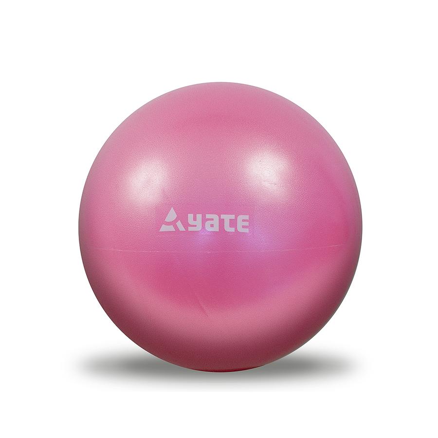 YATE Over Gym Ball 26 cm růžový