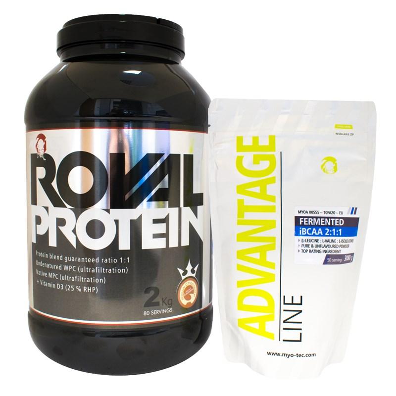 MyoTec Royal Protein 2000 g čokoláda banán
