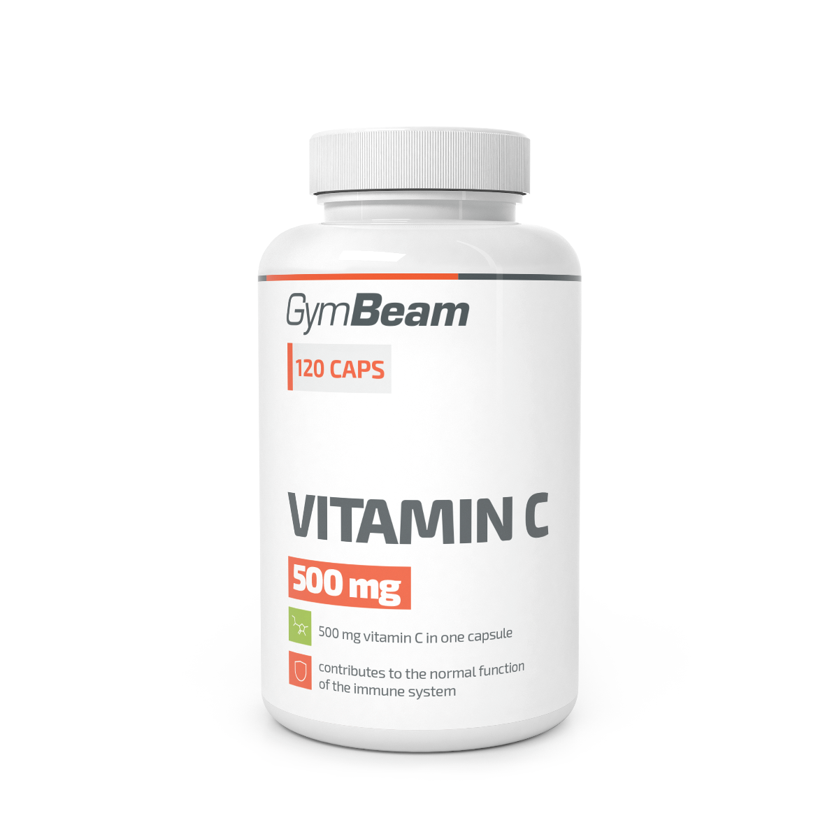 GymBeam Vitamin C 500 mg 120 kaps.