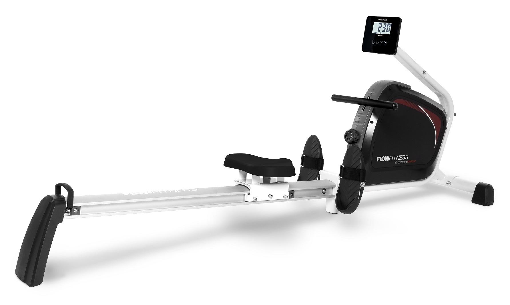 Veslovací trenažér FLOW Fitness DMR250 + zajištění servisu u Vás doma a rozšířená záruka 120 měsíců