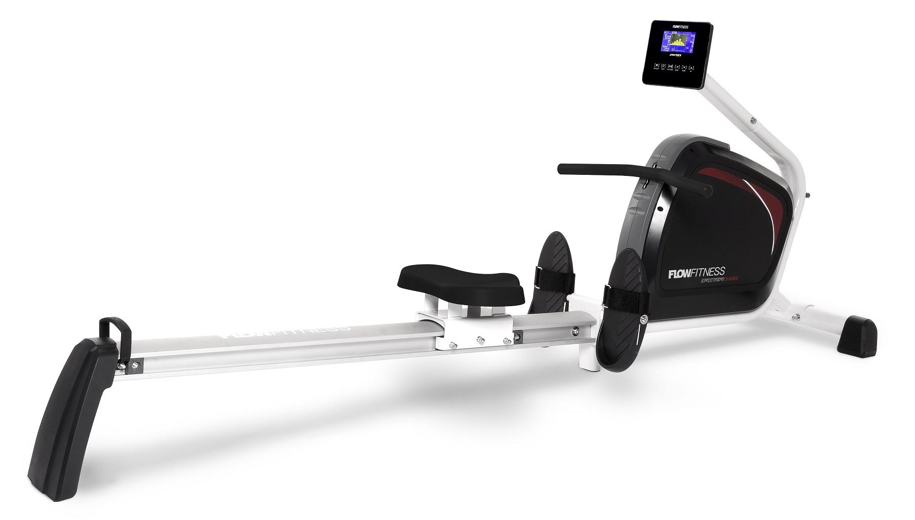 Veslovací trenažér FLOW Fitness DMR800 + zajištění servisu u Vás doma a rozšířená záruka 120 měsíců