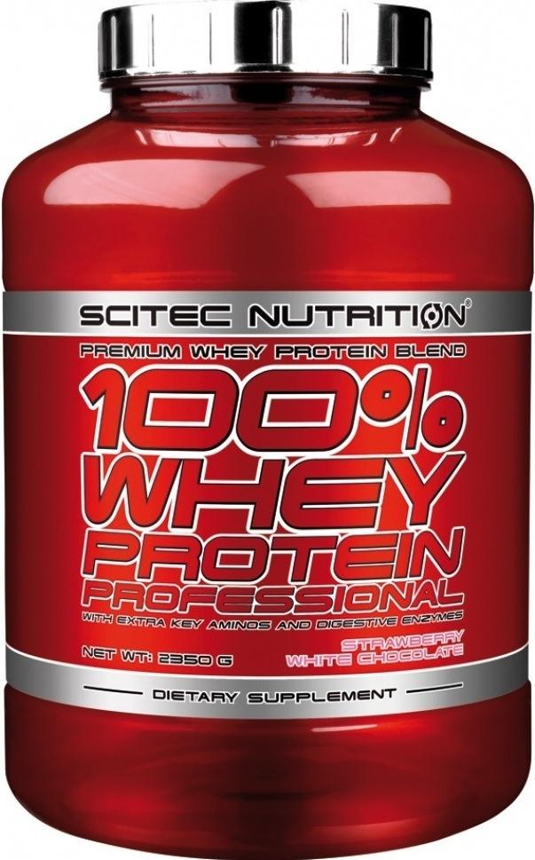 SCITEC 100% Whey Protein Professional 2350 g čokoláda
