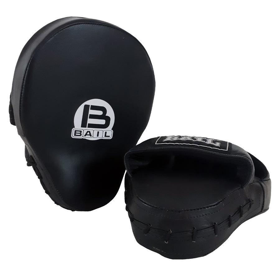 BAIL lapy prstové kožené s krytem černé