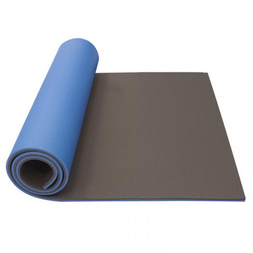 Podložka na cvičení dvouvrstvá 12 mm Maxi YATE  černá modrá