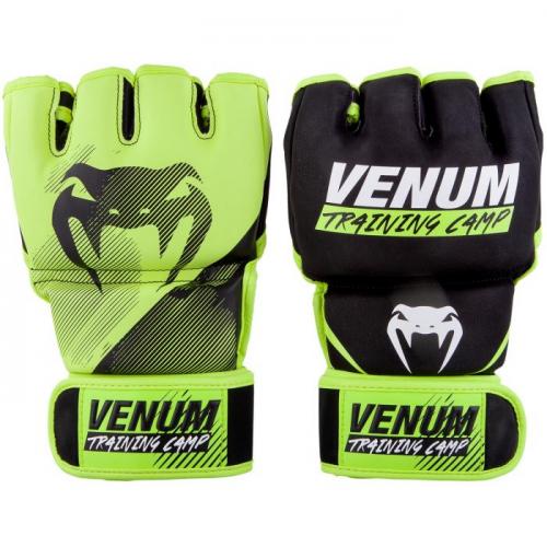 MMA rukavice Training Camp černé neo žluté VENUM