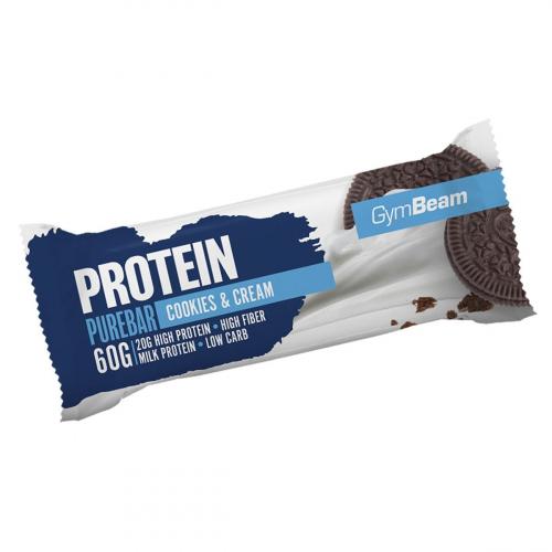 GymBeam Protein Pure Bar 60 g cookies dream