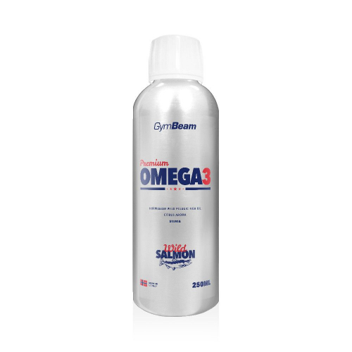 GymBeam Premium Omega 3 - 250 ml citrus