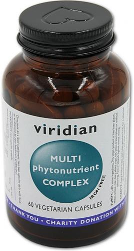 VIRIDIAN Multiphyto Nutrient 60 kapslí