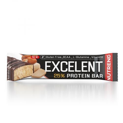 NUTREND Excelent protein bar 85 g marcipán mandle