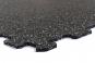 TRINFIT Sportovní gumová podlaha do fitness_puzzle_10% šedág