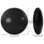 Vzduchová balanční podložka TUNTURI s pumpičkou černá rozměry