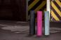 Jóga podložka TPE protiskluz 3 mm TUNTURI s popruhem šedá
