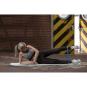 Jóga podložka TPE protiskluzová 4 mm TUNTURI s popruhem workout 1