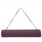 Jóga podložka TPE dvouvrstvá tmavě růžová fialová popruh