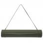Jóga podložka TPE dvouvrstvá tmavě zelená světle zelená popruh