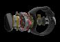 POLAR VANTAGE V černé - pohled na jednotlivé díly