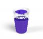 Sportovní - cestovní hrnek 350 ml MADMAX fialový