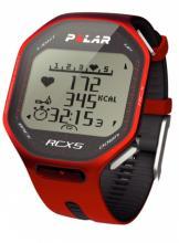 Sporttester POLAR RCX5 + datalink červený