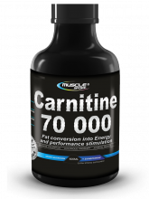 MUSCLE SPORT Carnitine liquid 70000 - 500 ml citrus mix