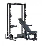 Posilovací stroj TECHNOGYM OLYMPIC HALF RACK s ADJUSTABLE BENCH