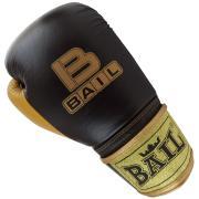Boxerské rukavice 10 oz kůže Royal BAIL černé