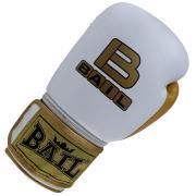 Boxerské rukavice 10 oz kůže Royal BAIL bílé