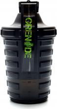 GRENADE Shaker 600 ml + 150 ml černý