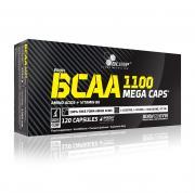 OLIMP BCAA 1100 Mega Caps 120 kapslí + 5 vzorků BCAA XPLODE zdarma!